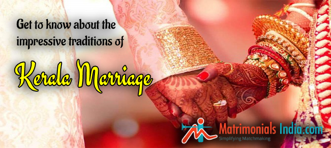 Get To Know About The Impressive Traditions Of Kerala Marriage