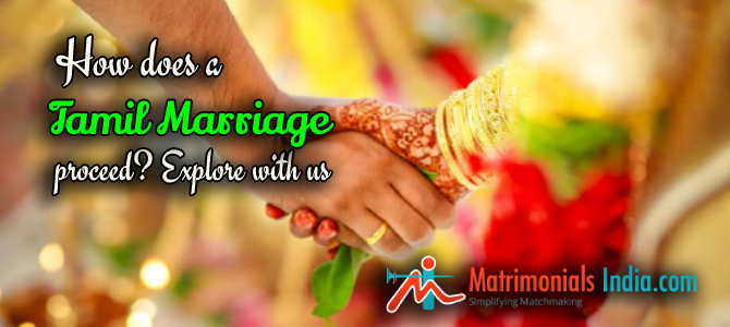 How does a Tamil Marriage proceed? Explore with us